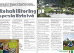 Agdernæringen - artikkel om Sørlandets rehabiliteringssenter