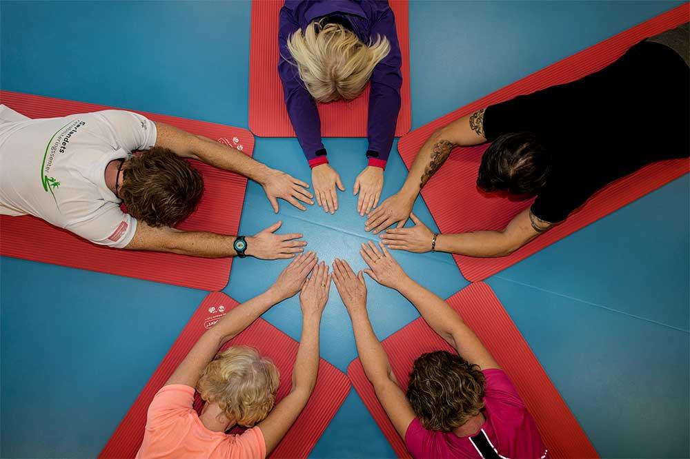 Trening ved Sørlandets rehabiliteringssenter