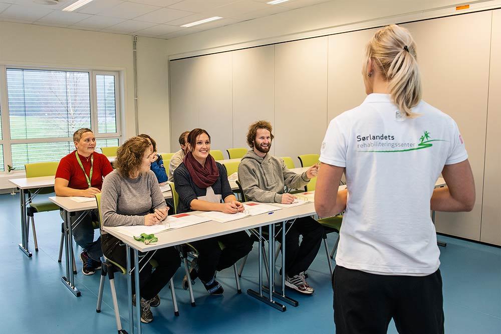 Sørlandets rehabiliteringssenter Eiken / Undervisningslokaler