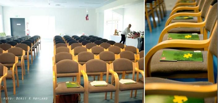 Fagdag ved Sørlandets rehabiliteringssenter / Forarbeid
