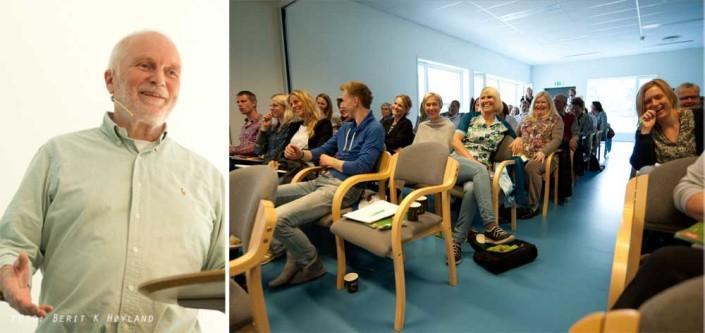 Fagdag ved Sørlandets rehabiliteringssenter / God stemning