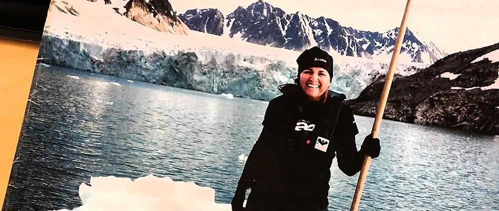 Astrid Furholt til Sydpolen - God helg Fædrelandsvennen / Sørlandets rehabiliteringssenter