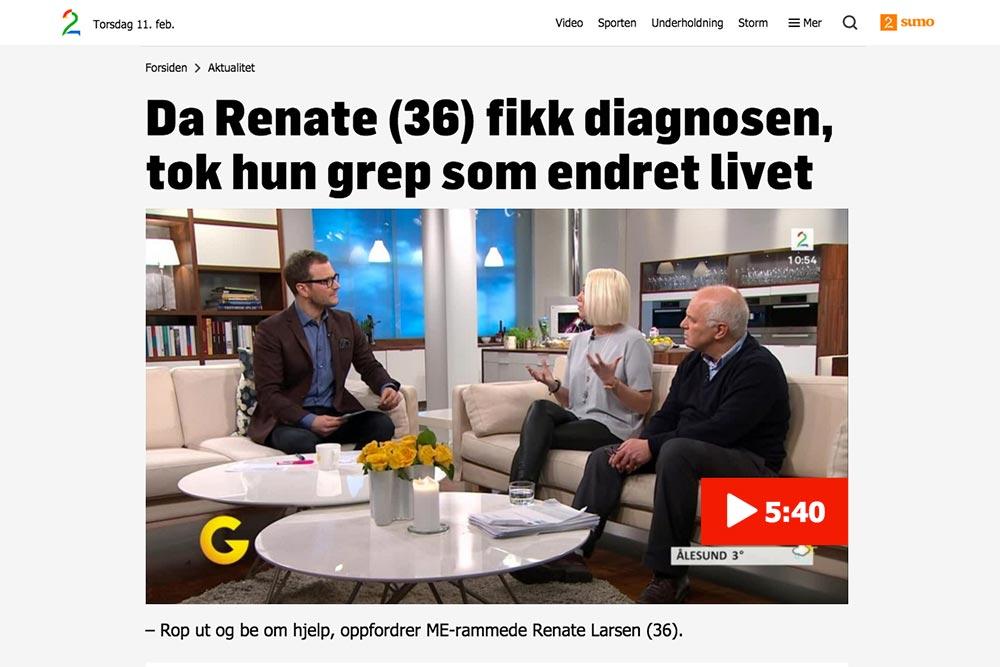 Godmorgen Norge faksimile / Sørlandets rehabiliteringssenter