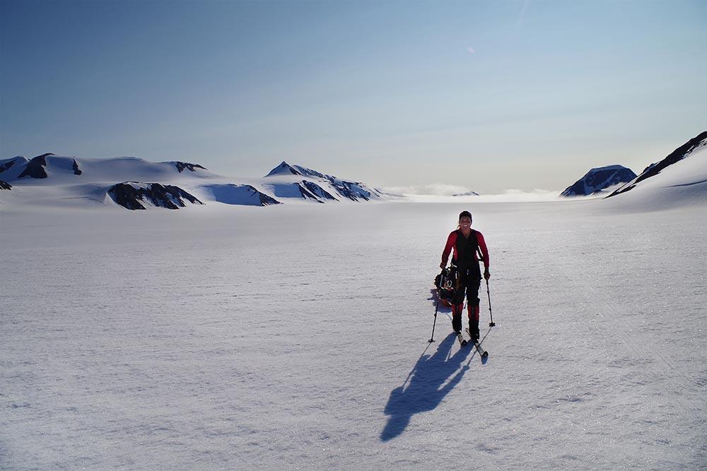 På tur til Spitsbergen i 2014. Nå er målet hakket tøffere - Astrid Furholt til Sydpolen / Sørlandets rehabiliteringssenter
