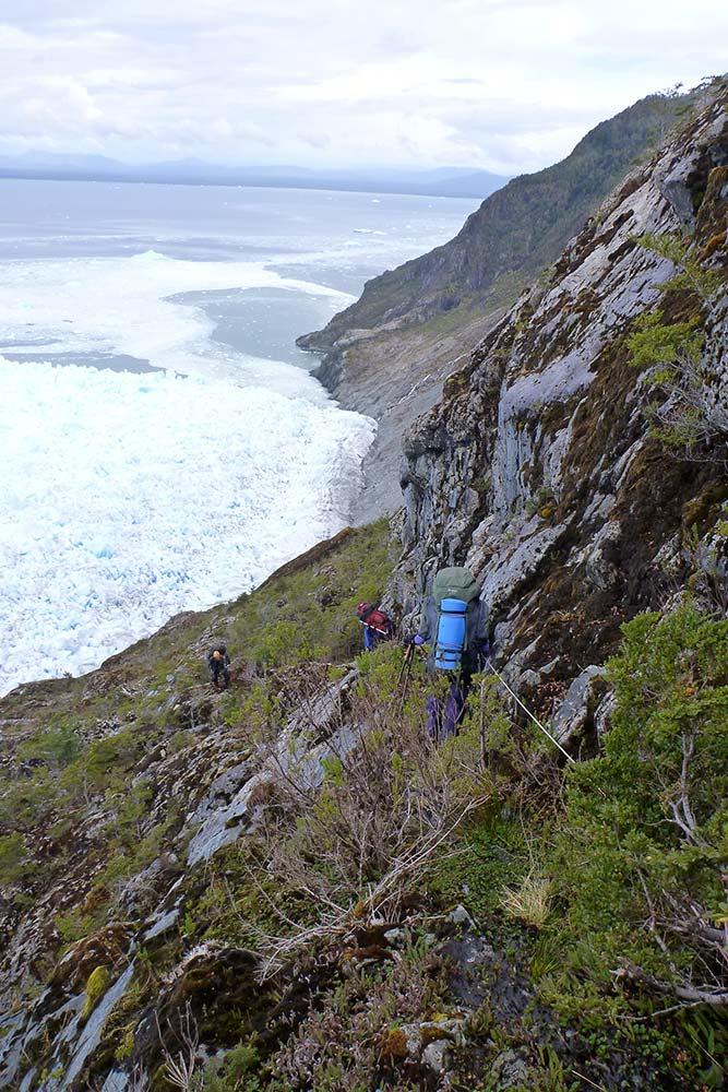 Drivkraften i mine opplevelser som kreftsykepleier hjelper meg til å ta neste steg mot mitt store mål / Astrid Furholt - Patagonia 2013