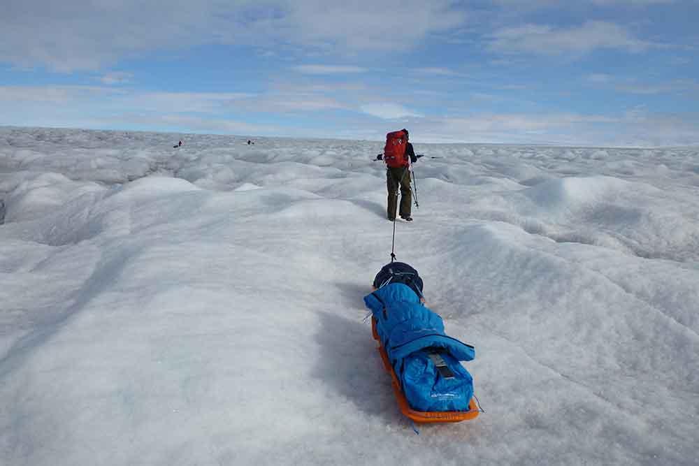Astrid Furholt til Sydpolen / Sørlandets rehabiliteringssenter