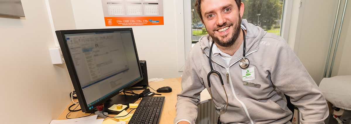 Lars Undheim, lege ved Sørlandets Rehabiliteringssenter