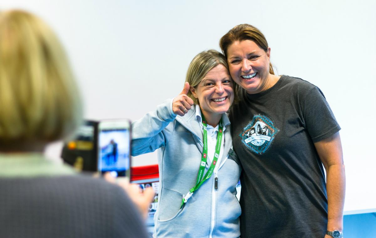 Astrid Cecilie Salvesen Moe er kreftsykepleier ved Sørlandets rehabiliteringssenter