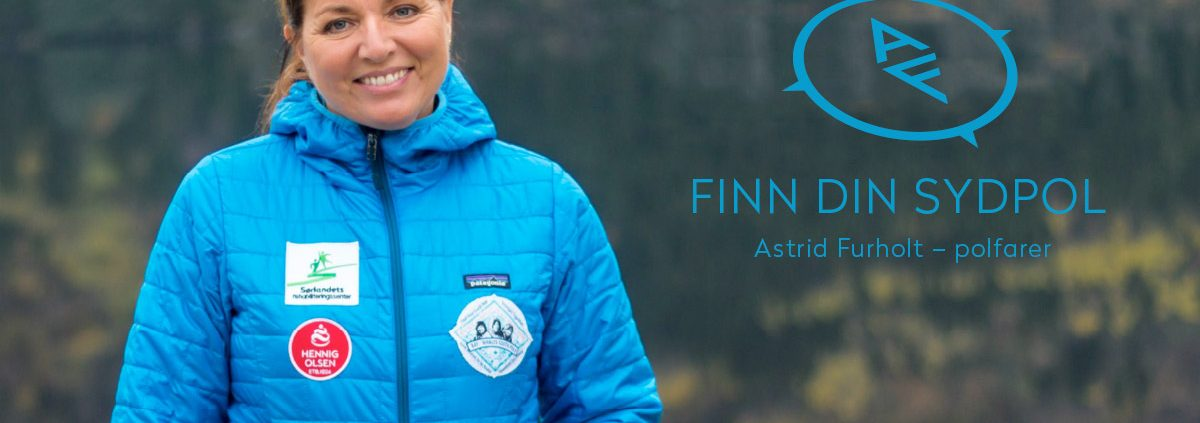 Astrid Furhold polfarer - Finn din sydpol / Sørlandets rehabiliteringssenter
