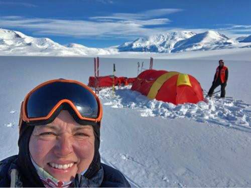 Astrid til Sydpolen