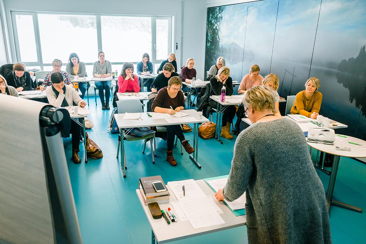 Undervisningsrom for kognitiv terapi