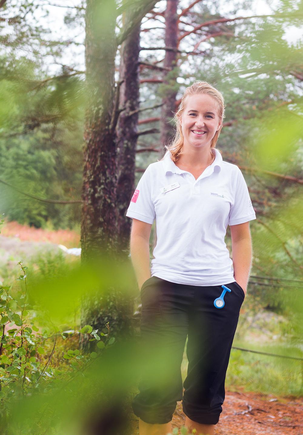 Fysioterapeut Stine Vikøyr