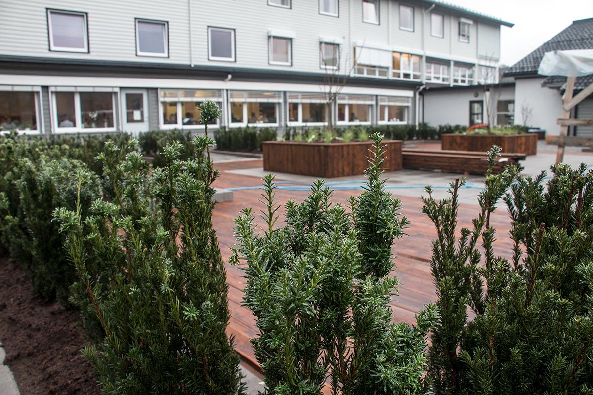 Uterehabiliteringshage - Sørlandets rehabiliteringssenter