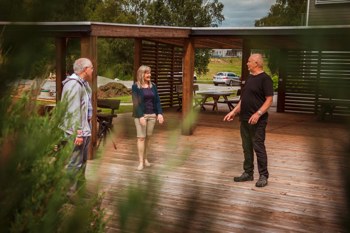 Trioen Egil Skogestad, Reidun Meberg og Ånen Werdal